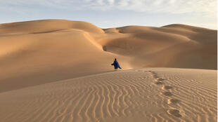 Voyageurs et guides mauritaniens sont de retour dans le désert de l'Adrar.