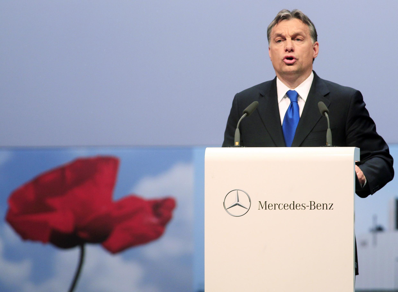Đạo luật Giáo dục Đại học do Thủ tướng Orban đề ra, bị giới sinh viên chỉ trích (Reuters)
