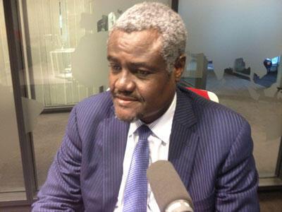 Moussa Faki Mahamat, ministre tchadien des Affaires étrangères.