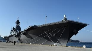 Tầu chở trực thăng Izumo của Nhật Bản sẽ được nâng cấp thành tầu sân bay.