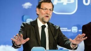 Mariano Rajoy, Premier ministre espagnol.