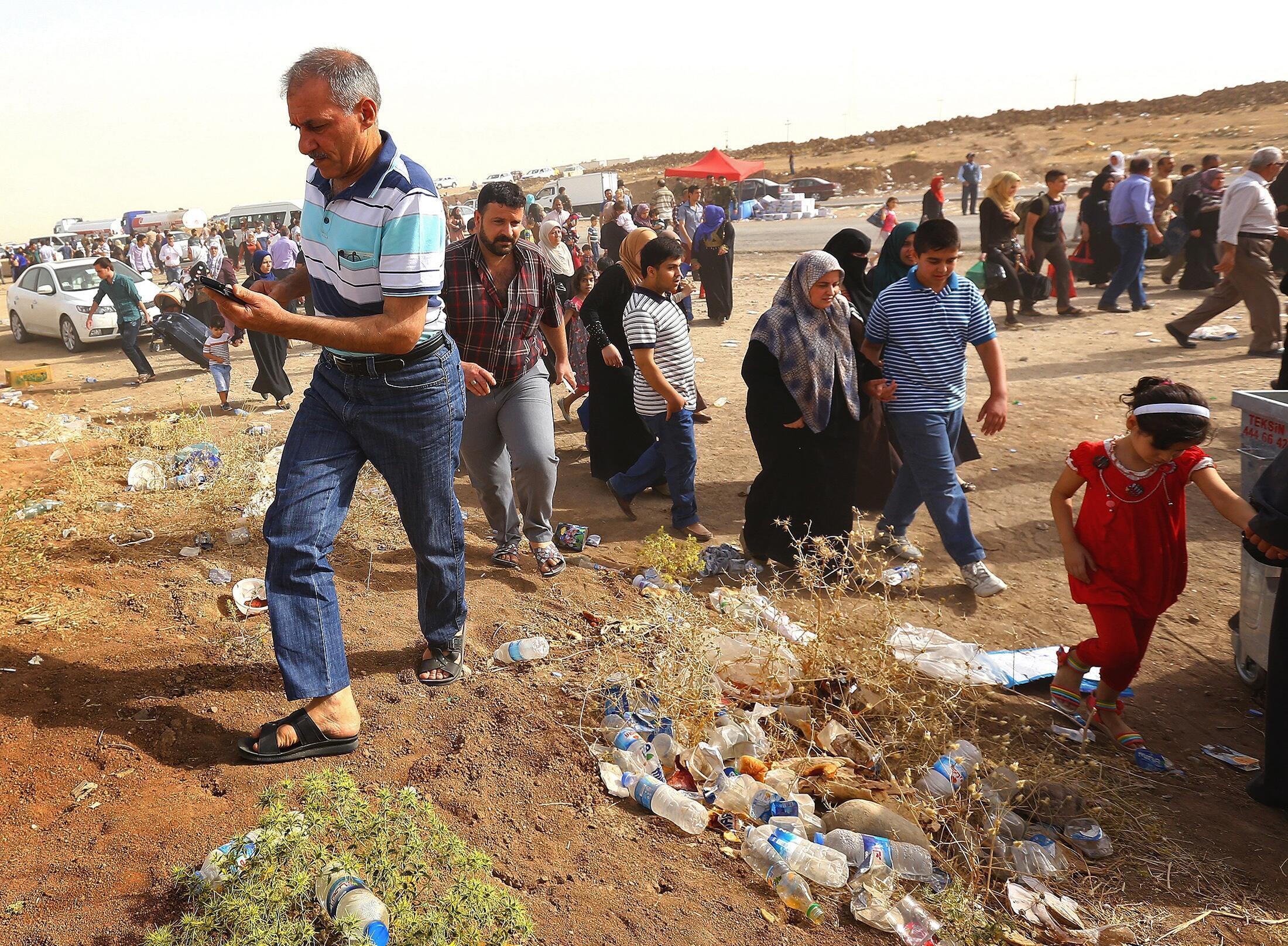 Иракский Курдистан, 12 июня 2014.