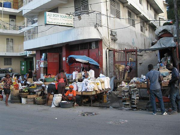 Marché, Port-au-Prince.