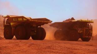 澳大利亞取之不竭的鐵礦石。