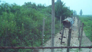 Zone militaire démilitarisée entre la Corée du nord et la Corée du Sud.