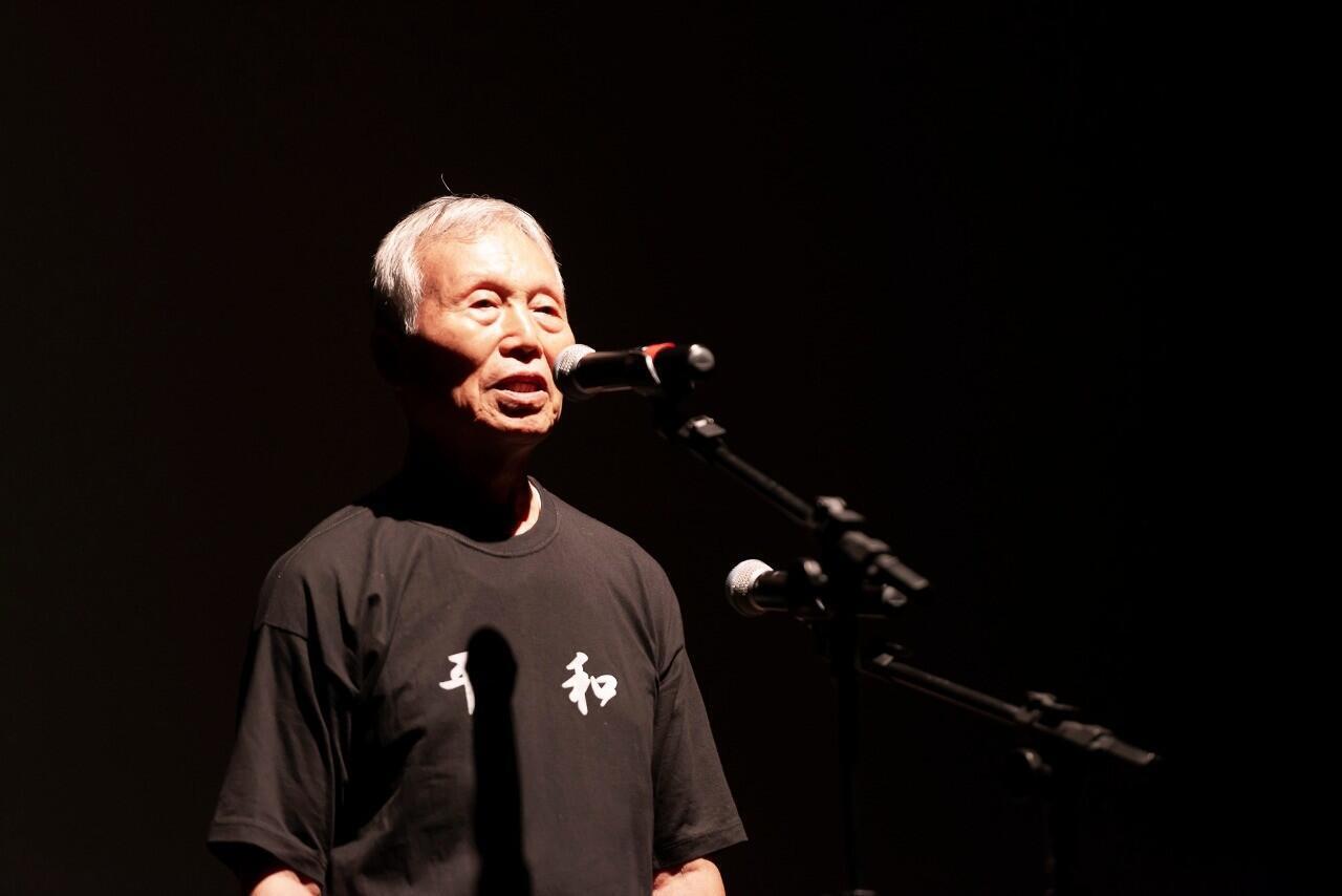 Aos 80 anos, Kunihiko Bonkohara é um hikabusha, um sobrevivente da bomba atômica.