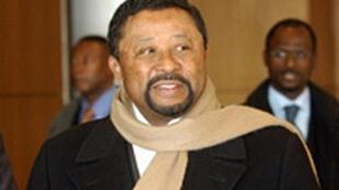 Le président de la Commision de l'Union africaine, Jean Ping.