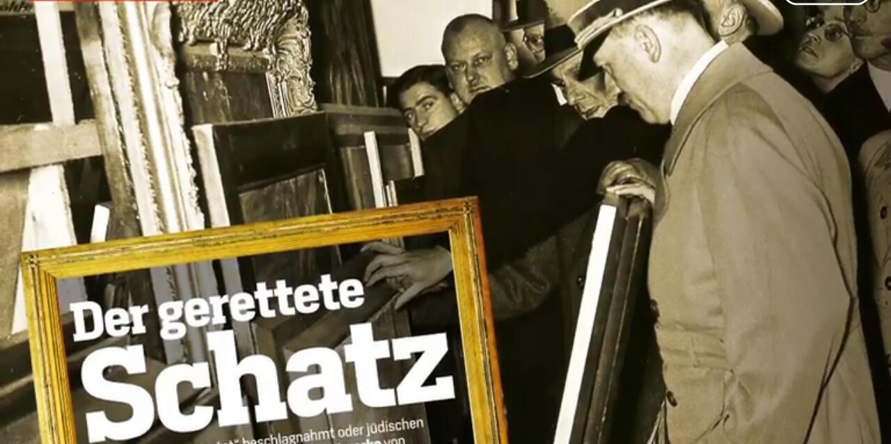 Статья в журнале Focus о находке в Мюнхене картин, похищенных гитлеровцами в годы войны