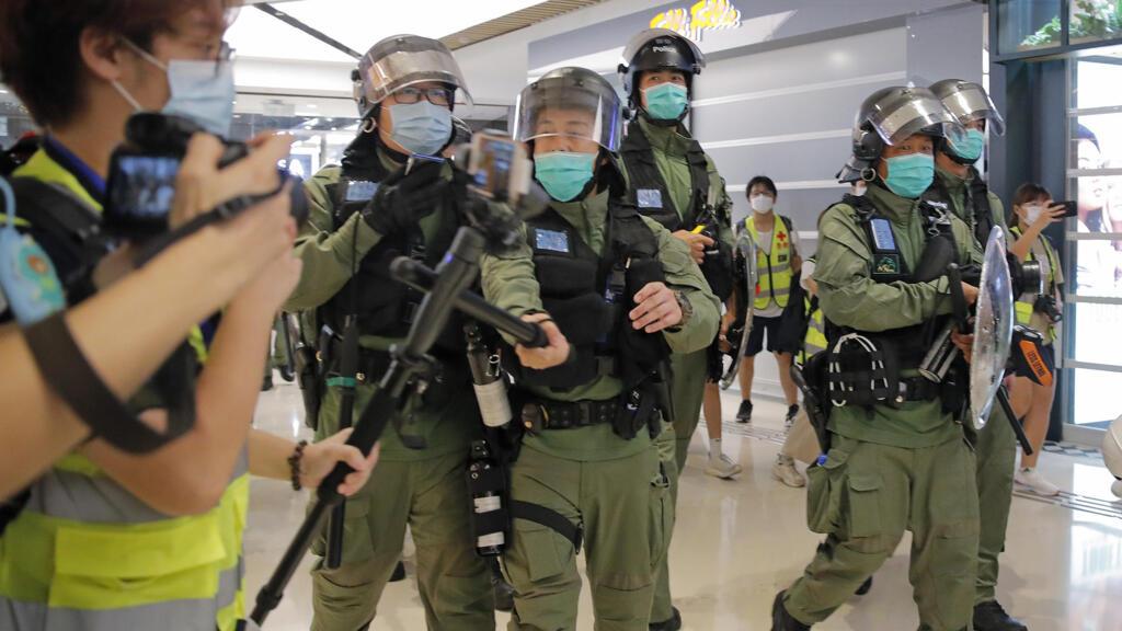 La police hong-kongaise revoit sa définition des «journalistes»