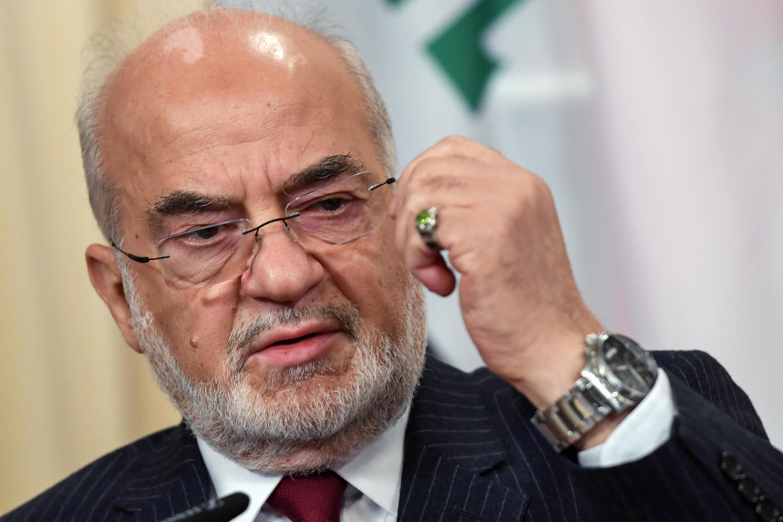 Le ministre irakien des Affaires étrangères Ibrahim al-Jaafari, le 23 octobre 2017.