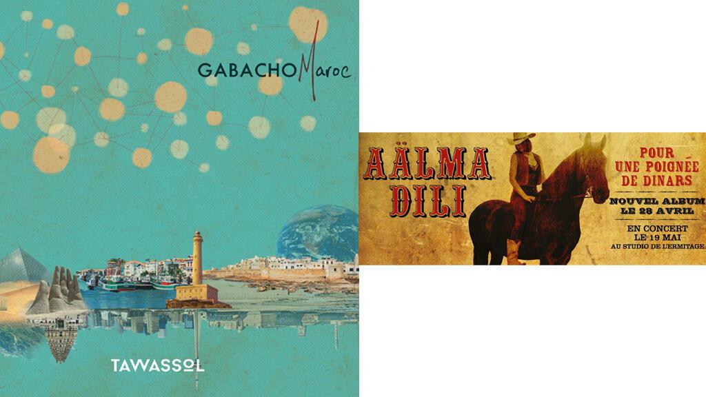 Gabacho Maroc Cd Tawassol et Aälma Dili Cd Pour une poignée de dinars.