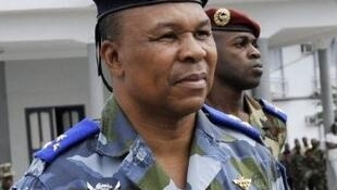 Le général Georges Guiai Bi Poin, le 22 novembre 2010, à Abidjan, lorsqu'il était chef du Cecos.