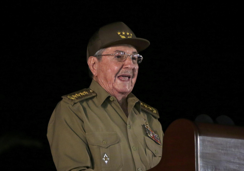 Chủ tịch Raul Castro. Ảnh chụp ngày 03/12/2016 tại Santiago de Cuba.