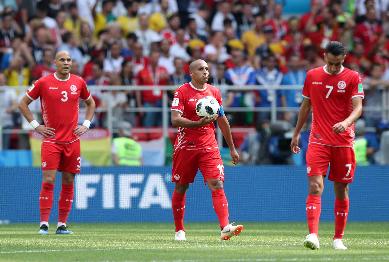 La Tunisie s'est inclinée face à la Belgique lors de son deuxième match du Mondial 2018, le 23 juin 2018.