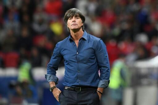 Le sélectionneur de l'équipe d'Allemagne Joachim Low lors du match de Coupe des Confédérations contre le Chili, le 22 juin 2017 à Kazan