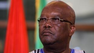 Le président burkinabè Roch Marc Christian Kaboré.