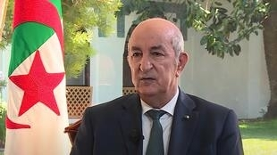 Interview with Algerian president, Abdelmadjid Tebboune, on RFI English's sister TV channel France 24