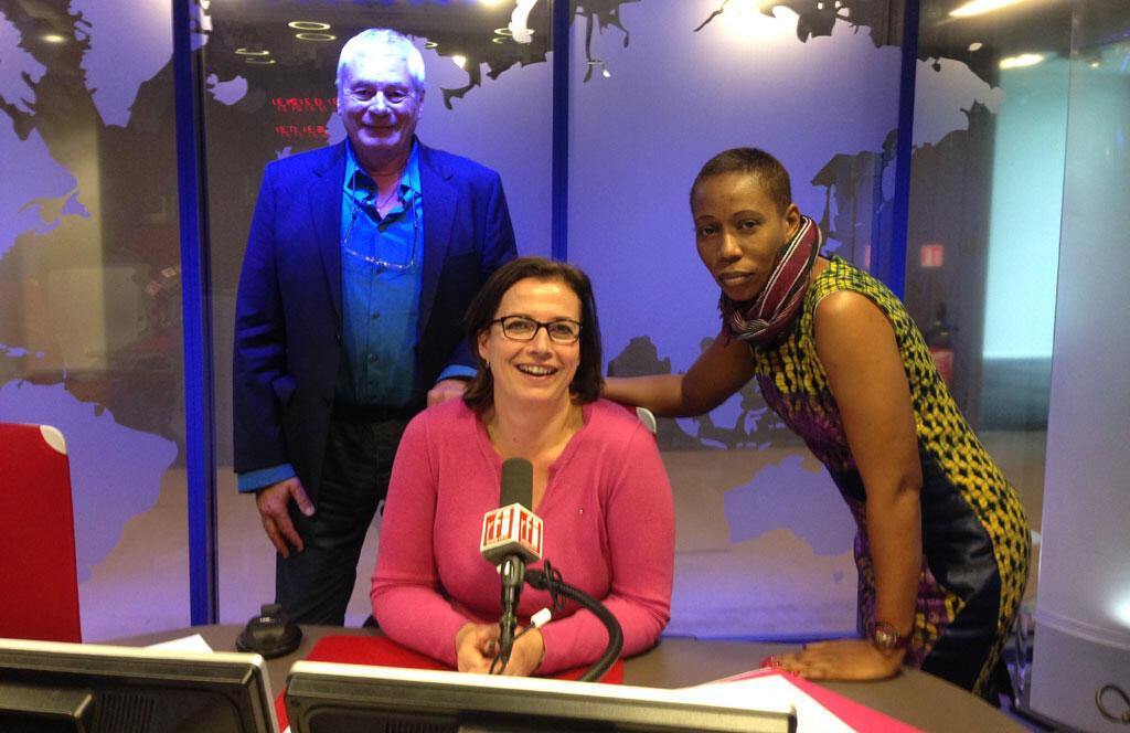 Dr Foldès, Claire Hédon et Aminata Traoré à RFI.