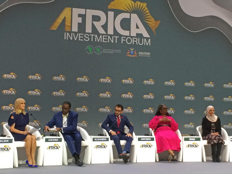 Le Forum pour les investissements en Afrique à Johannesburg du 7 au 9 novembre 2018.