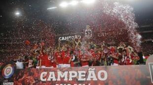 Benfica, Campeão de Portugal 2013/2014.