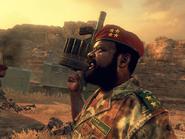 Jonas Savimbi in Call of Duty: Black Ops II.