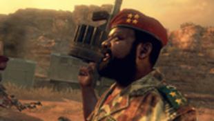 Jonas Savimbi no Call of Duty : Black Ops 2.