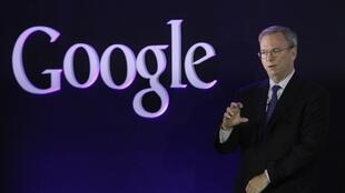 Eric Schmidt, patrón de Google, en Seúl, con ocasión de promover la tableta Nexus 7, en septiembre.