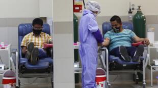 Bolivia doações de plasma