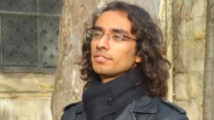 El estudiante nepalés Parimal.