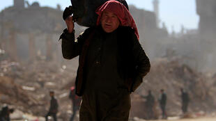 Alep-Est, quartier d'al-Kalasa, le 2 février 2017.