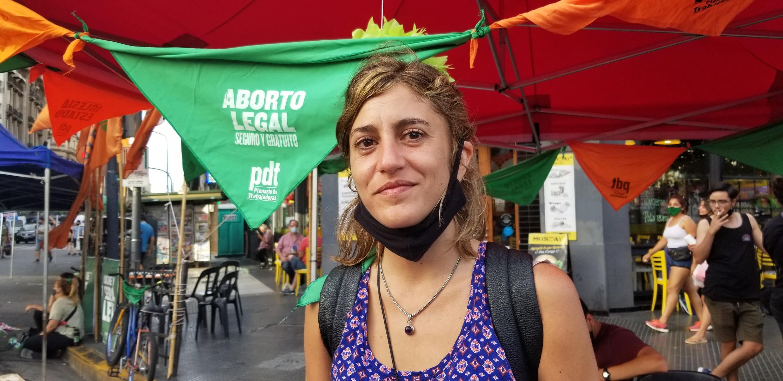 RFI - Juliana Cabrera quer o fim da clandestinidade e do negócio em torno do aborto Foto Márcio Resende
