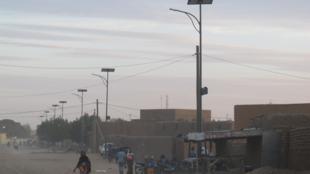 Rue de Gao, dans le nord du Mali.