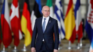 Премьер-министр Молдовы Павел Филип на саммите «Восточного партнерства», 24 ноября 2017.