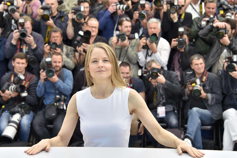 La actriz y directora estadounidense Jodie Foster, el 12 de mayo de 2016 en Cannes, Francia