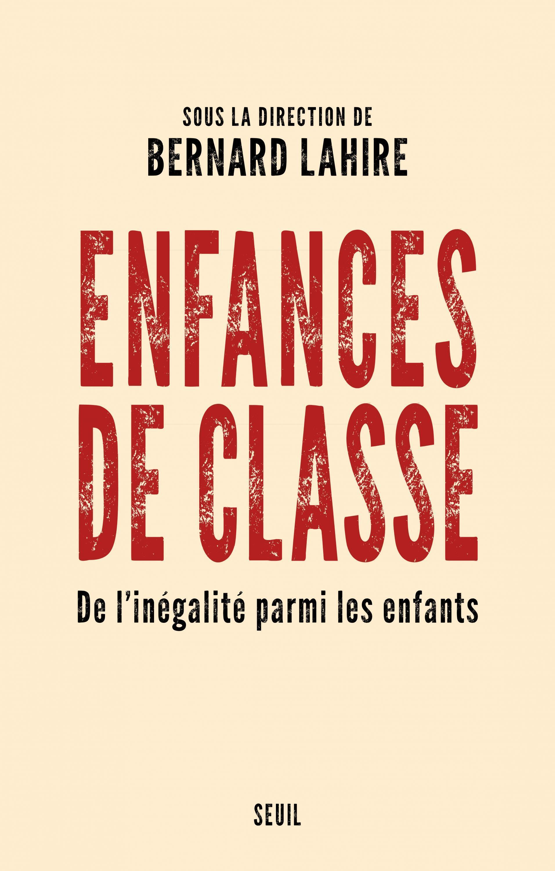 """Capa do livro """"Enfance de Classe"""", que discute as desigualdades na primeira infância"""