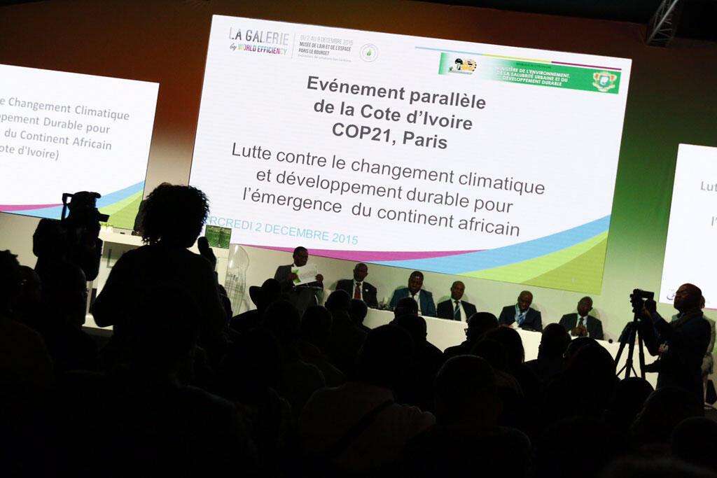 La conférence Côte d'Ivoire à la galerie par World Efficiency.