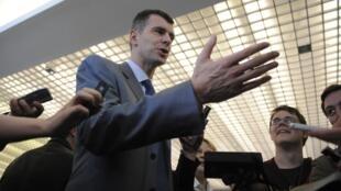 Mikhaïl Prokhorov souhaite avec son parti, Juste Cause, mettre un terme au monopole du parti au pouvoir en Russie.