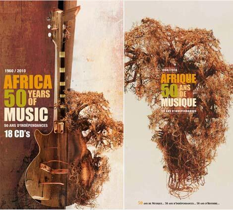 coffret Afrique 50 ans de musique