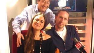 Leonor Harispe, Mathieu Guenez y Jordi Batallé