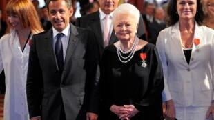 Olivier de Havilland – Nicolas Sarkozy – Légion d'honneur