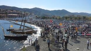 The wine harvest festival at Banyuls-sur-Mer