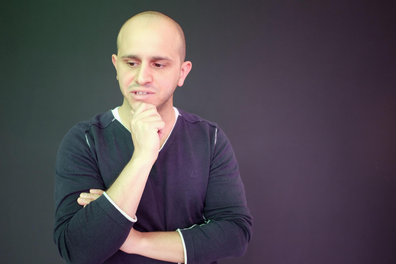 L'artiste saoudien Talal Al-Zaid.