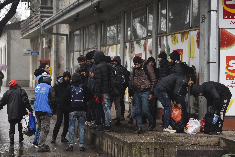 Serbie - Hongrie - Frontière - réfugiés AP20028407138720