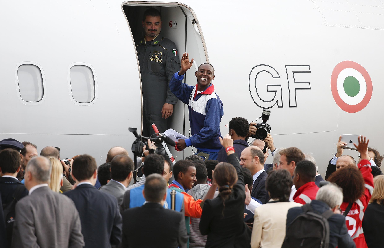 19名厄爾特尼亞人,2015年10月份離開意大利蘭佩杜薩到前往瑞典