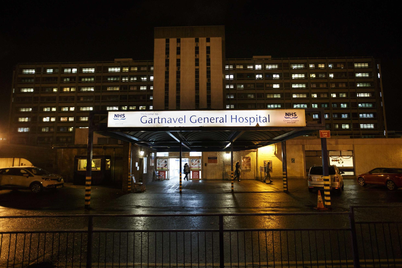 A segunda vítima do vírus ebola no Reino Unido foi internada no hospital Gartnavel, em Glasgow, antes de ser transferida para Londres.