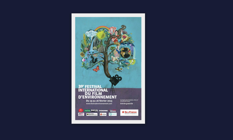 Cartaz do festival do filme do Meio Ambiente