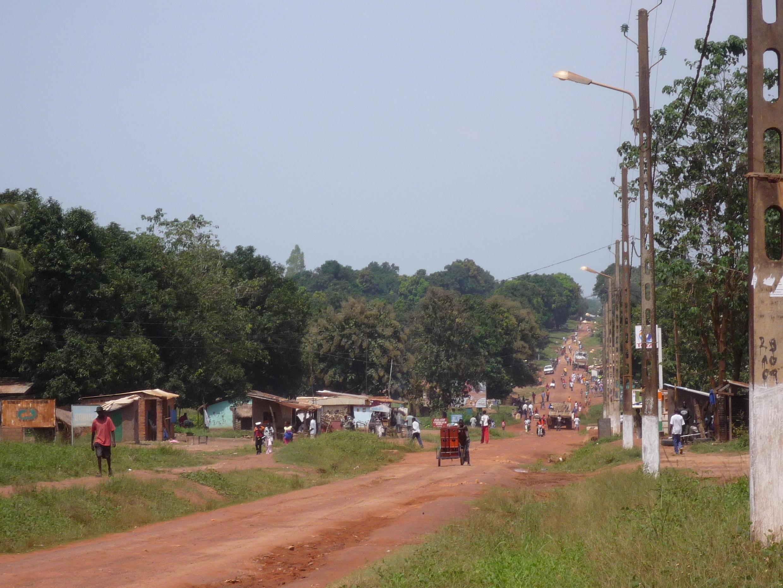 Dans les environs de Bossangoa, en RCA.