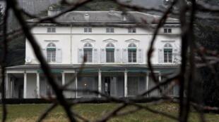 Le manoir de Ban, dernière demeure de Charlie Chaplin.