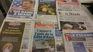 Diários franceses 28/10/2015