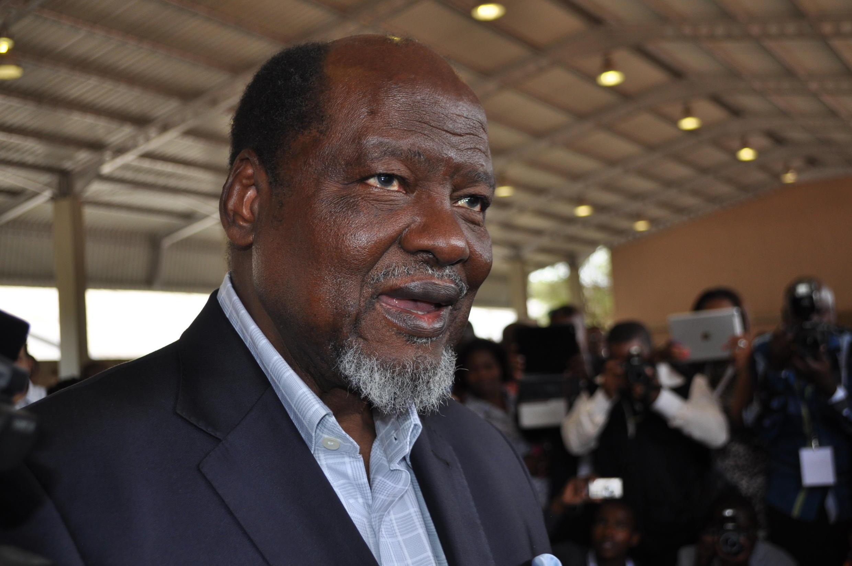 Joaquim Chissano, antigo presidente moçambicano